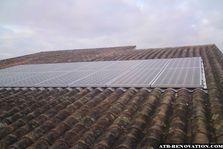 Pose de panneaux photovoltaïque à Bègles
