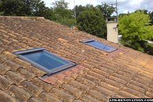 Isolation et pose de fenêtre de toit à Pessac